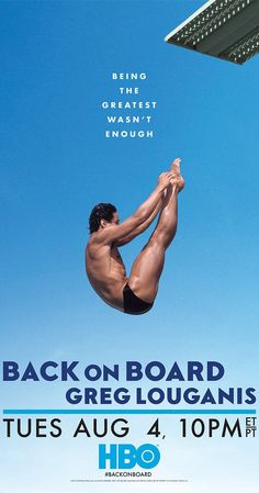 Back on Board: Greg Louganis documentary about the greatest diver of all time. Four-time Olympic champion Greg Louganis has faced more than his share of challenges. Inspirational Movies, Best Documentaries, Olympic Champion, Alternative Movie Posters, Television Program, Documentary Film, The Life, Movies To Watch