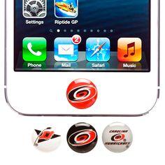 Carolina Hurricanes 4-Pack Apple Home Button Sticker - $7.59