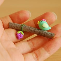 made from polymer clay - http://www.flickr.com/photos/etsyjoojoo/3650459257/