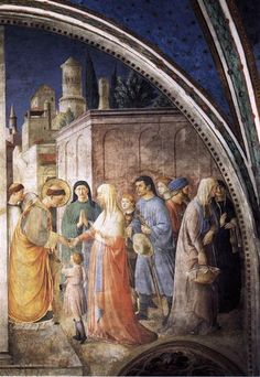 St. Stephen Distributing Alms - Fra Angelico