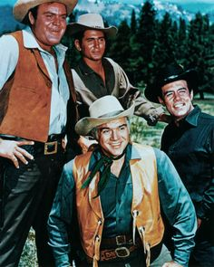 Bonanza premieres on NBC, the first weekly television series broadcast completely in color.