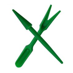 OAGTECH 2pcs Plastic Dig Seedling Tools Hole Puncher Garden Tools * See this great product.