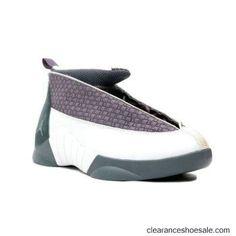 low priced e60b3 d7a26 136029-011 Air Jordan 15 XV Original OG Flint Grey White A21001