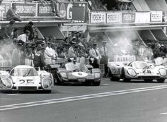 A still from the 1971 movie about the 24 Hours of Le Mans motor race, which is considered by racing fans to be one of the greatest motorspor...