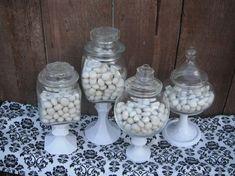 diy home decor pinterest | DIY Home Decor Dollar Store | DIY: Home Decor / Candy Jars I could ...