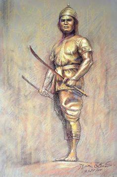 Thaiyuth - The Martial Art of Muay Thai: ประวัติพระยาพิชัยดาบหัก 2