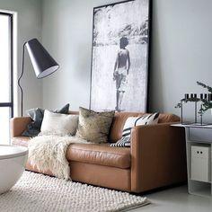 The beautiful living room of @designlykke , love the colour combo  . #livingroom #livingroomdecor #nordichome #nordicinspiration