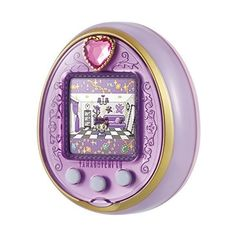 TAMAGOTCHI 4U Anniversary ver. Royal Purple from Japan by Bandai ($155) ❤ liked on Polyvore featuring fillers