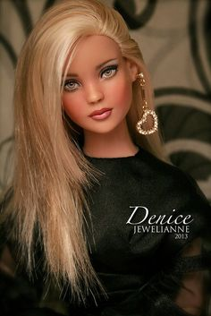 Denice 1739 (Tonner Sydney Chase repaint) | by Jewelianne Flickr - Photo Sharing!