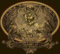 Beautiful artwork for Cult Of Luna - Eternal Kingdom Post Metal, Best Albums, Religious Icons, Comic Artist, Vinyl, Beautiful Artwork, Occult, Art Boards, Cover Art