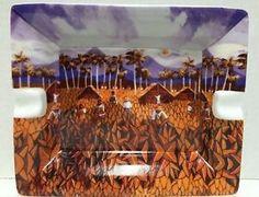 Arte-de-Cafe-Candido-Bido-Ashtray-Dominican-Republic-Artist-Plate-Dish-Tray