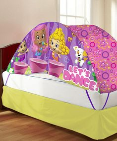 Look what I found on #zulily! Bubble Guppies Bed Tent & Pushlight #zulilyfinds  $19.99 from 32.00