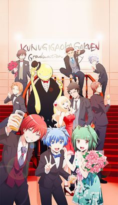 To everyone who has watched Assassination Classroom, you guys are amazing! We may not have been part of the class, but we have contributed to making such a great series popular. - DA | Class 3-E | Assassination Classroom