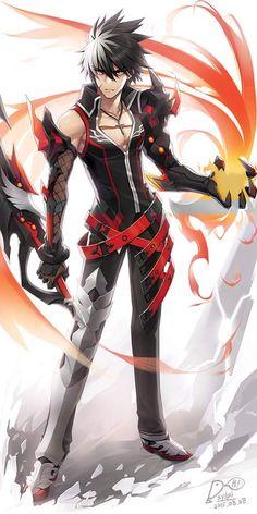 Watch anime online in English. Fantasy Character Design, Character Design Inspiration, Character Concept, Character Art, Anime Warrior, Anime Demon, Anime Krieger, Wallpaper Animes, Dark Anime