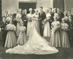 The Jewelry Lady's Store: Can you identify anyone in this 1930's wedding pho...