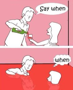 Everyone needs a heavy pour every once in a while. #wine