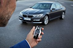 The new BMW 7.  The tech is amazing.