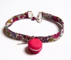 Bracelet liberty  macaron