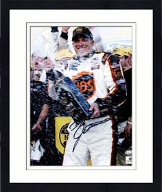 Signed Dale Jarrett Photograph - Framed 8x10 - GA Certified - Autographed NASCAR Photos by Sports Memorabilia. $94.99. Autographed Dale Jarrett Photo - 8x10 GA. Terrific signature quality. This item has been verified by Sportsmemorabilia s numbered hologram certification. We evaluate all of our pieces for quality before offering them for sale, so you can be sure you're getting a good deal. All of our inventory has been certified authentic and comes with a gaurantee of auth...