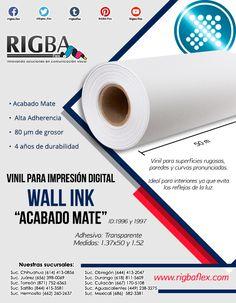 ¡Vinil para impresión Wall Ink! la solución ideal para superficies con curvas simples o complejas, paredes rugosas, madera y más Digital Prints, Innovative Products, Vinyls, Fingernail Designs, Curves, Wood
