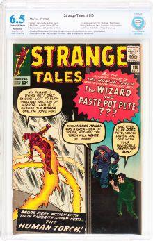 Silver Age (1956-1969):Superhero, Strange Tales #110 (Marvel, 1963) ....