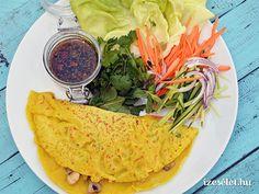 Rizslisztes, csirkés palacsinta chilimártogatóval és ázsiai salátával - Receptek   Ízes Élet - Gasztronómia a mindennapokra