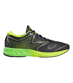 ASICS NOOSA FF BLACK/GREEN GECKO/SAFETY YELLOW