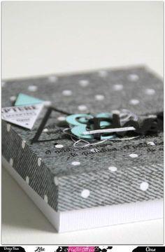 Tuto : un mini album en accordéon et sa boîte