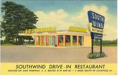 Southwind Drive In Dixie Hwy., LouisvilleKy., 1950's