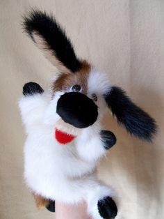 Собачка,игрушка -перчатка для домашнего кукольного театра. :: Ольга Макарова