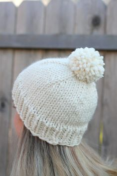You can get the PDF version HERE Purchase your own Belle Beanie HERE  The Belle Beanie SKILL LEVEL: Easy MATERIALS: – 1 ball of #6 Super Bulky Yarn (I used Lion Brand Wool-Ease Thick an…