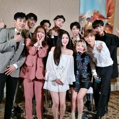 180405 smtown in dubai live press conference Exo Red Velvet, Red Velvet Irene, Siwon, Leeteuk, Nct Johnny, We Are Family, Kpop, Korean Celebrities, Tvxq