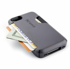 iPhone Cover and Wallet: Guys like to be minimal, and they don't like to carry around a lot of stuff, so this two-in-one iPhone cover and wallet hybrid ($22, originally $40) will suit their needs perfectly! You can slot up to three cards and even slide in some cash. There is a handy thumb-release button that will expel the cards when you need them!