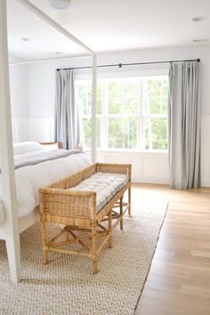 Relaxing master bedroom ideas so you no longer feel anxiety when you walk in your bedroom! The right paint colors, bedding, what to spend money on and when to save. #masterbedroom #relaxingbedrooms