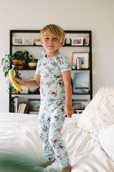 Esme Boys Pajamas Long Sleeve Crew Neck Top Pant Set 12m 18m 24m 3 4 5 6 7 8 10