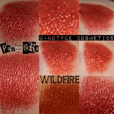 NEW Orange Red Duochrome eyeshadow pigment with Diamond sparks: WILDFIRE by Notycebeauty on Etsy https://www.etsy.com/listing/179861235/new-orange-red-duochrome-eyeshadow