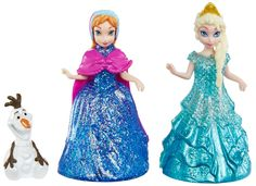 Disney Frozen Character Barbie Giftset with Anna, Elsa, and Olaf  Pre Order by Mattel®