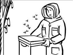 Bee Coloring Pages, Educational Activity sheets And Puzzles Free To Download
