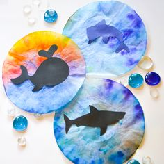 Dolphin Craft Idea for Preschool - Preschool Crafts
