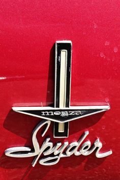 Corvair Monza Spyder Fender Badge At Automobile Drive Museum El Segundo Ca Richard Bauman