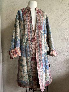 550609399d1 Gorgeous silk kantha reversible duster jacket. Long DusterDuster  JacketFashion ...
