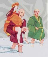 Cuentos Mas Cuentos: Cuento Comprensión   Monjes Budistas