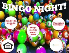 #BeeCaveApartments is inviting YOU to #joinus for #Bingo Night THIS #Friday at 6:30PM! Your #Cielo #CARESTeam encourages #residents to bring a #snack for #sharing. And #dontforget, this #event is #BYOB! We'll #seeyou in the #Clubhouse!