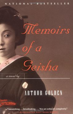 """Memoirs of a Geisha by Arthur Golden """"It is not for Geisha to want. It is not for a Geisha to feel. Geisha is an artist of the floating world. I Love Books, Great Books, Books To Read, Amazing Books, Up Book, This Book, Book Club Reads, Memoirs Of A Geisha, I Love Reading"""