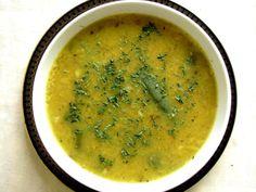 Bengali Veg Recipes, Indian Food Recipes, Vegan Recipes, Ethnic Recipes, Dal Recipe, Red Lentil Soup, Protein Sources, Chowders, Lentils