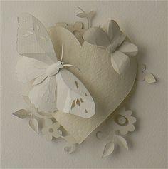 Helen Musselwhite White Butterflies