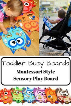 Busy board Baby learning toy Toddler busy board Montessori kid toy Sensory play board Wooden Cat Educational toy toddler gift Activity board #kids #gifts #montessori #affiliate