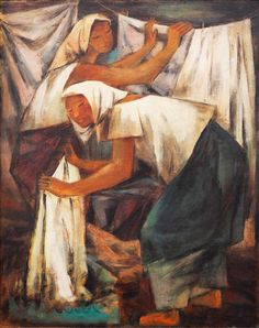 View Lavanderas by Anita Magsaysay-Ho on artnet. Browse upcoming and past auction lots by Anita Magsaysay-Ho. Filipino Art, Social Realism, Philippines Culture, Vintage Laundry, Vintage Iron, Art Uk, Drawing For Kids, Oil On Canvas, Book Art