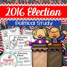 This booklet is perfect for familiarizing your lower elementary grade/ kindergarten/ special education learners with the 2016 U.S. electoral candidates Hillary Clinton, Gary Johnson, Jill Stein, and Donald Trump. Find out which candidate belongs to what party, as well as finding out what the Democratic Party, Green Party, Libertarian Party, and Republican Party all stand for in their beliefs. This fun booklet also teaches your students about the vocabulary used around the election.