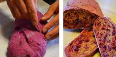 Beet bread from Gould farm. Amazing color!